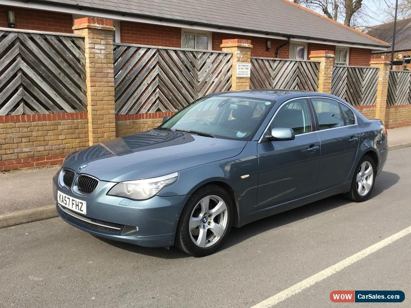2008 bmw 525d se a for sale in united kingdom. Black Bedroom Furniture Sets. Home Design Ideas