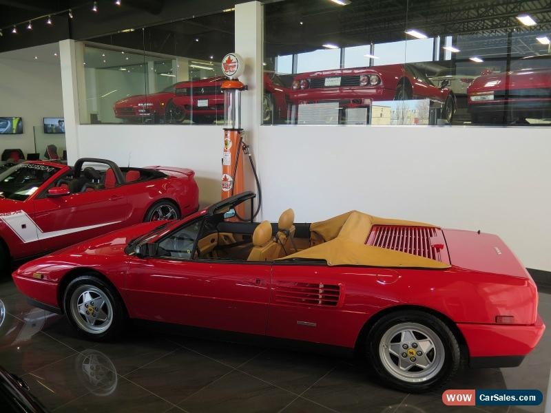 1992 ferrari mondial for sale in canada. Black Bedroom Furniture Sets. Home Design Ideas