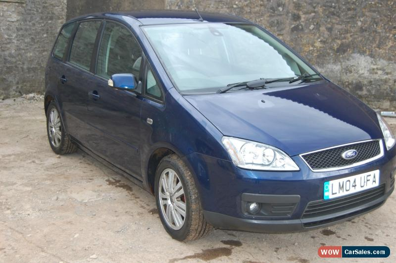 2004 ford focus c max ghia for sale in united kingdom. Black Bedroom Furniture Sets. Home Design Ideas