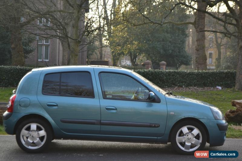 2004 renault clio privilege 16v for sale in united kingdom. Black Bedroom Furniture Sets. Home Design Ideas