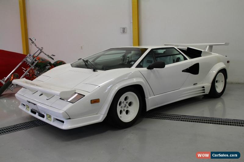 1988 lamborghini countach for sale in canada. Black Bedroom Furniture Sets. Home Design Ideas