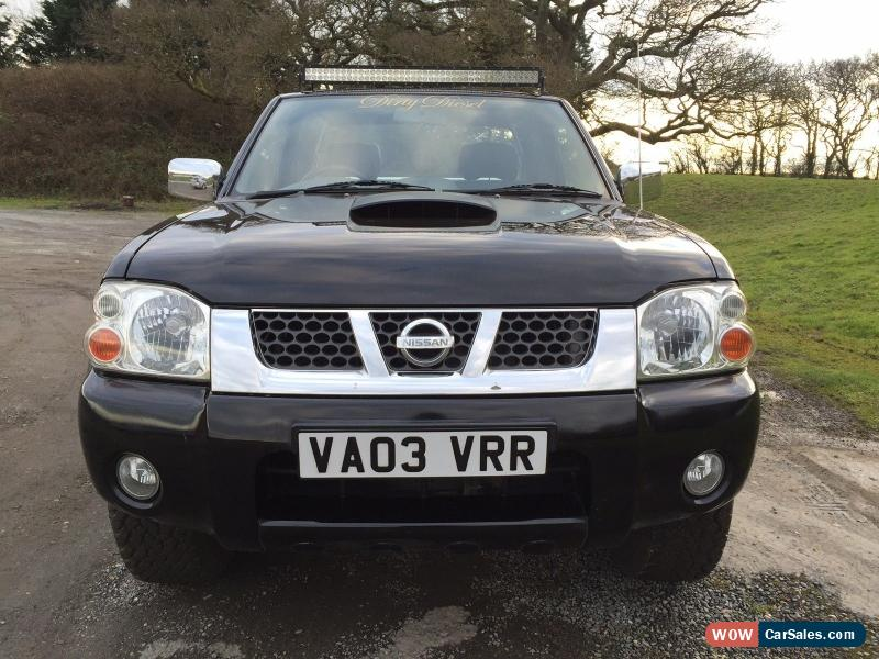 2003 nissan navara for sale in united kingdom. Black Bedroom Furniture Sets. Home Design Ideas
