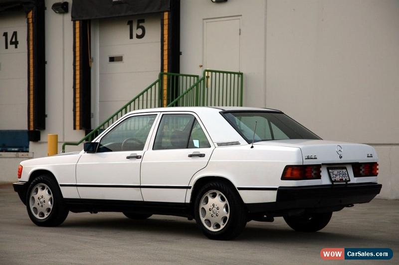 1985 mercedes benz 190 series for sale in canada rh wowcarsales com Custom 1985 Mercedes 190 1983 Mercedes 300D SW