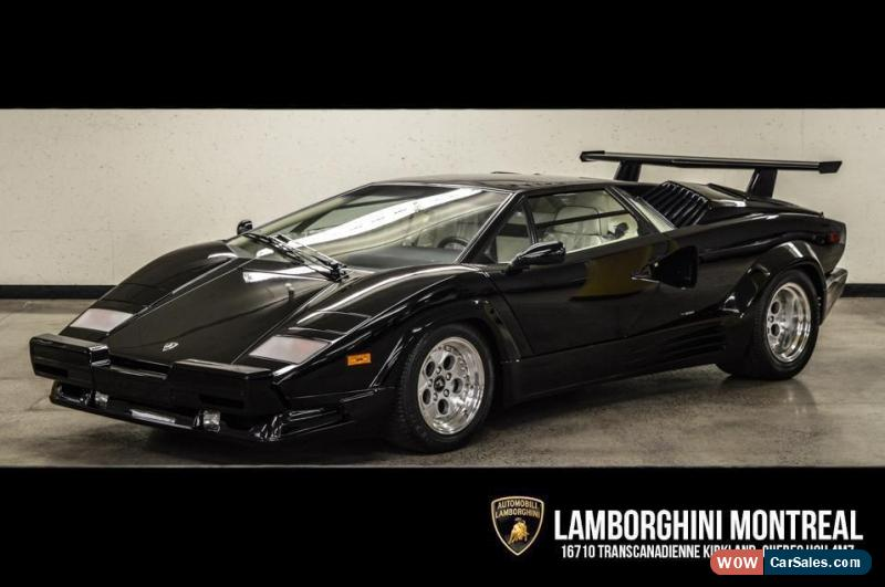 1990 Lamborghini Countach For Sale In Canada