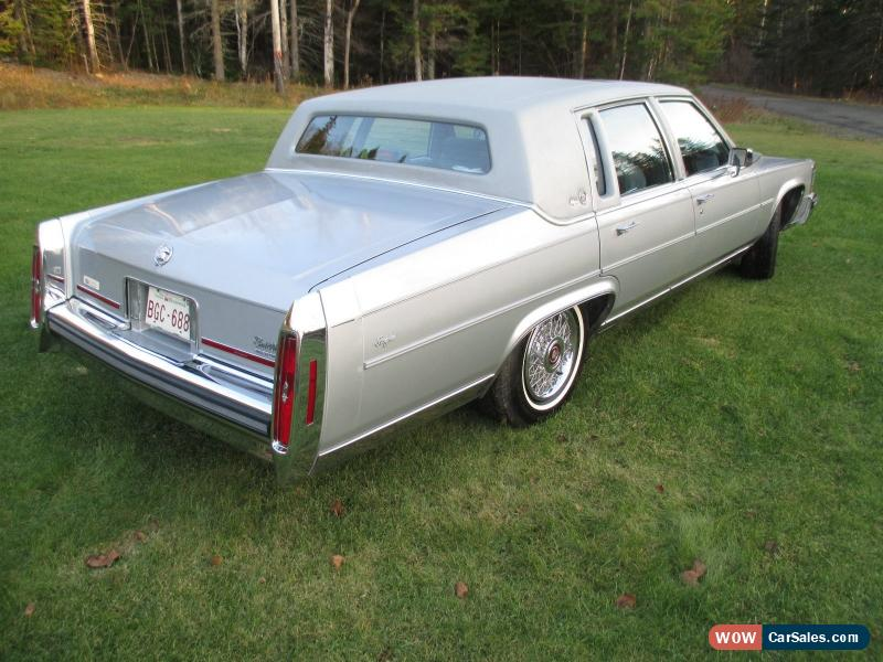 1989 Cadillac Brougham for Sale in Canada