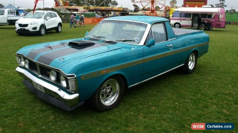 Xy Falcon Ute Big Block V8 For Sale In Australia