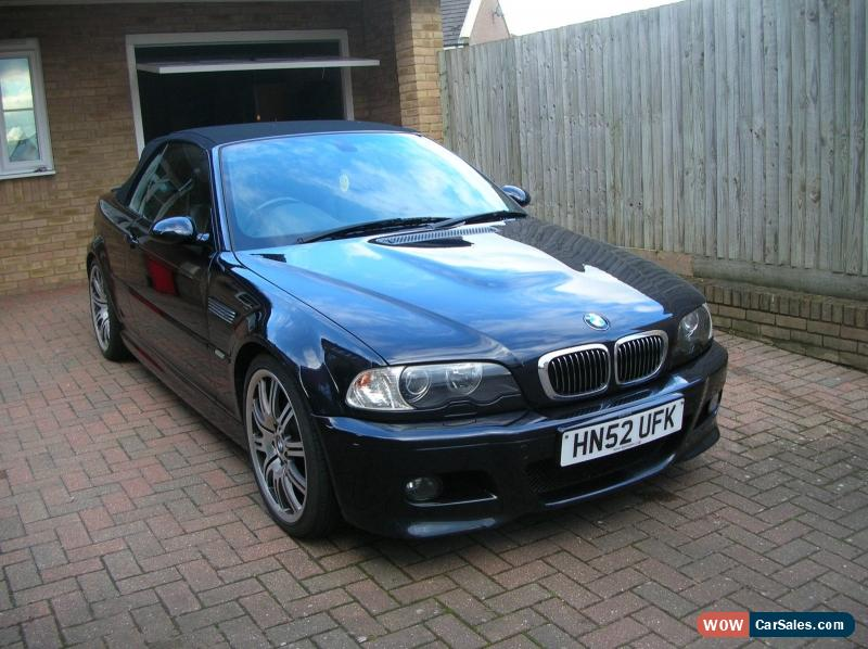 2002 bmw m3 for sale in united kingdom. Black Bedroom Furniture Sets. Home Design Ideas