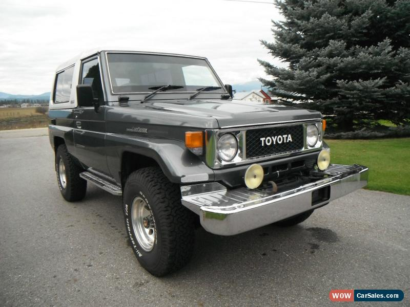 1987 toyota land cruiser for sale in canada. Black Bedroom Furniture Sets. Home Design Ideas