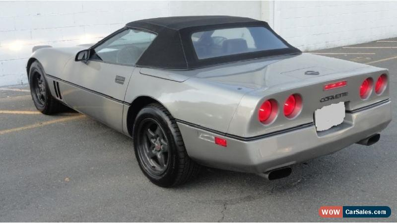 1987 chevrolet corvette for sale in canada. Black Bedroom Furniture Sets. Home Design Ideas