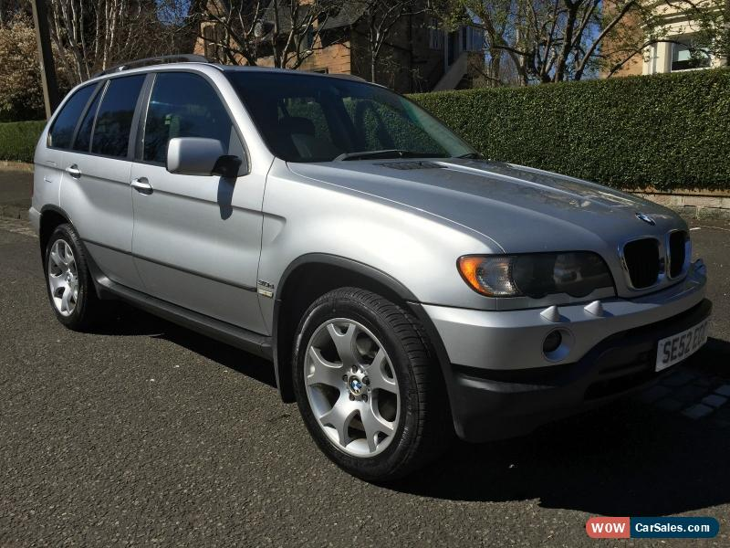 2003 bmw x5 d auto for sale in united kingdom. Black Bedroom Furniture Sets. Home Design Ideas