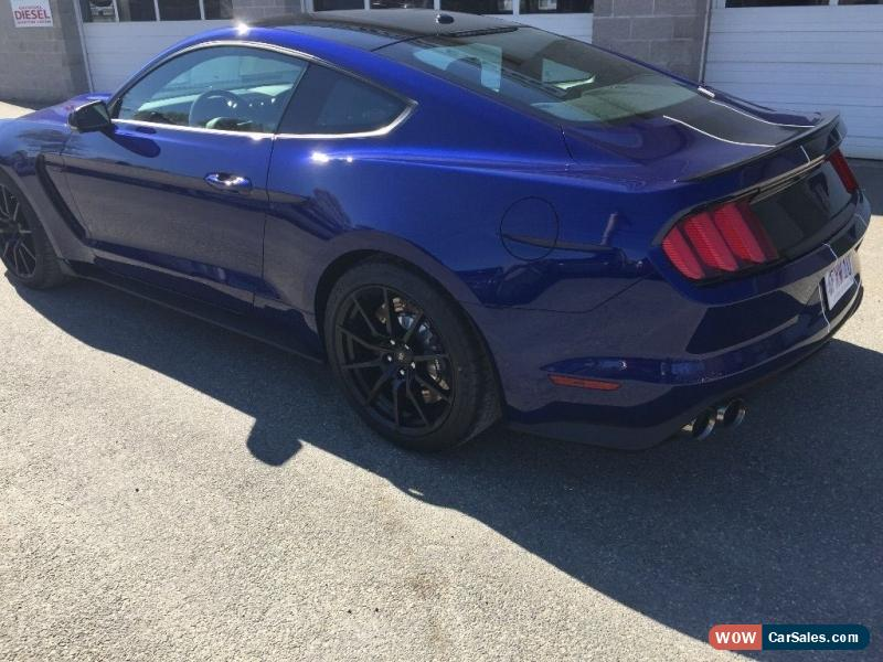 Clic 2016 Ford Mustang Shelby Gt 350 For