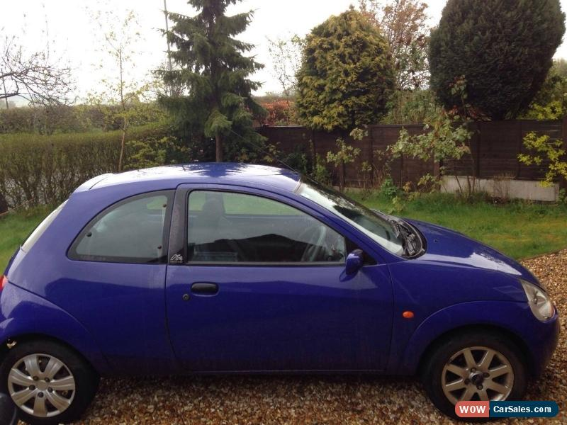Classic  Ford Ka   Blue Sold With Private Plate For Sale