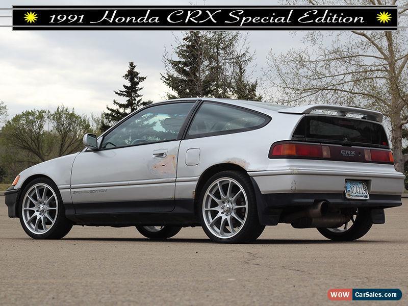 ... Classic 1991 Honda CRX Si For Sale