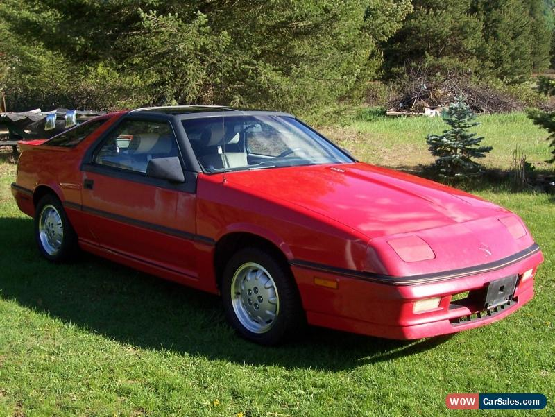 1987 dodge daytona for sale in canada. Black Bedroom Furniture Sets. Home Design Ideas