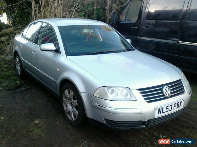 2003 volkswagen passat sport 20v for sale in united kingdom. Black Bedroom Furniture Sets. Home Design Ideas