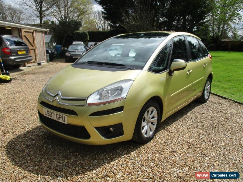 2007 citroen c4 picasso 5 vtr for sale in united kingdom. Black Bedroom Furniture Sets. Home Design Ideas