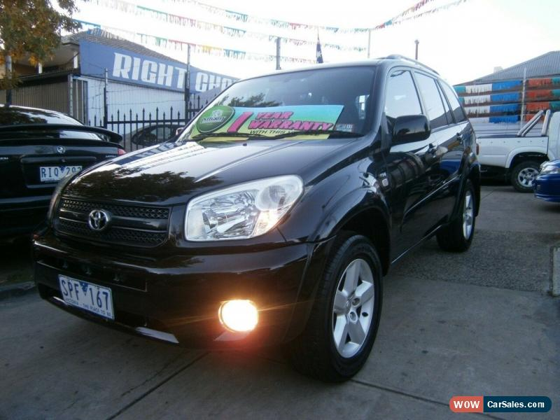 ... Classic 2003 Toyota RAV4 ACA23R Cruiser (4x4) Black Automatic 4sp A  Wagon For Sale