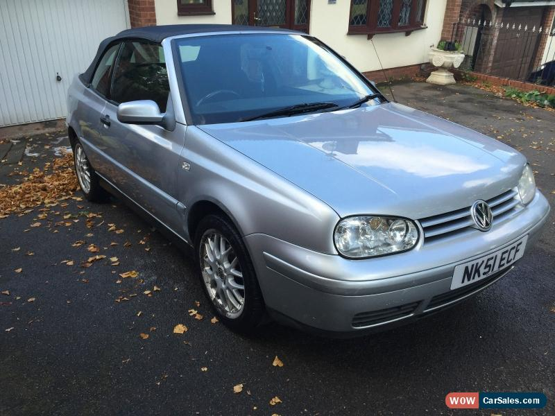 2001 Volkswagen GOLF CABRIOLET AV-GE for Sale in United ...
