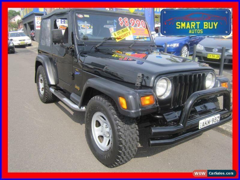 jeep wrangler for sale in australia rh wowcarsales com 1998 Jeep Wrangler TJ Specs Red Jeep TJ 1998
