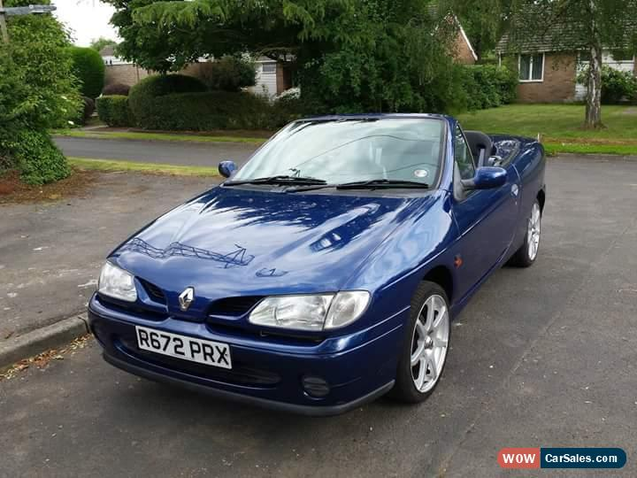 1998 renault megane 1 6e cabriolet for sale in united kingdom. Black Bedroom Furniture Sets. Home Design Ideas