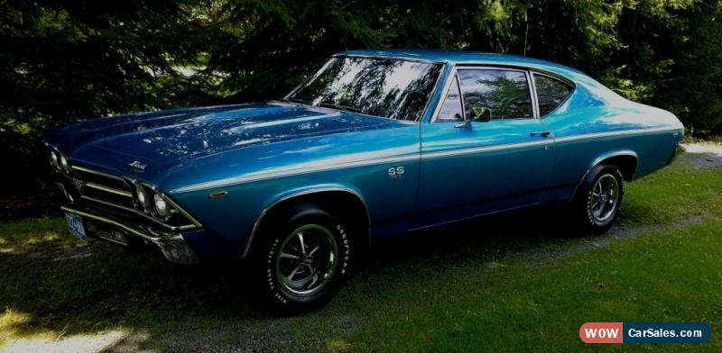 1969 Chevrolet Chevelle for Sale in Canada
