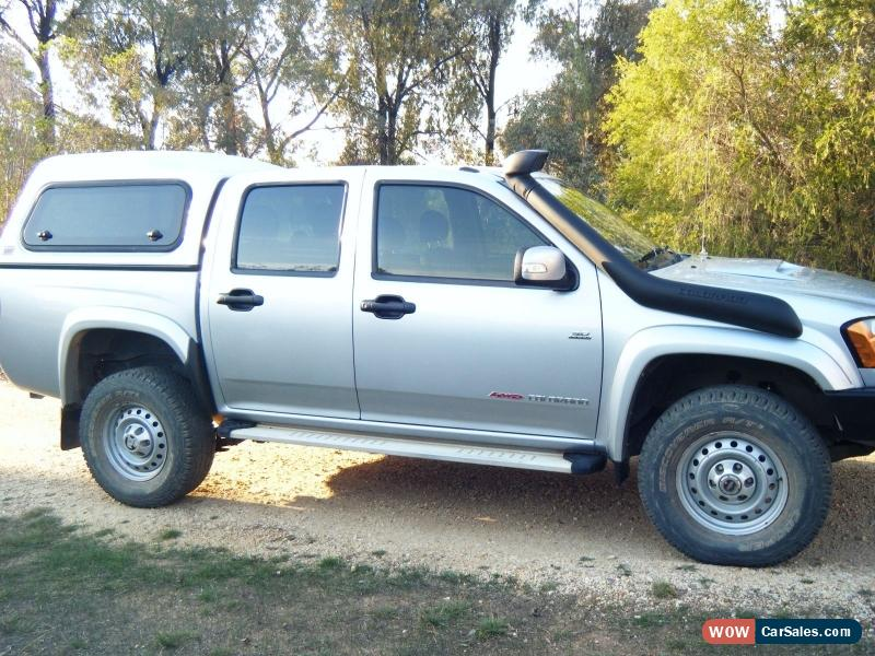 ... Classic 2010 Colorado RC LX Dual Cab Ute with ARB Canopy + Much More for Sale & Holden Ute for Sale in Australia