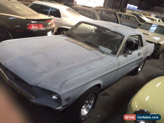 Ford Mustang 1967 Project coupe classis muscle car camaro firebird falcon  chev