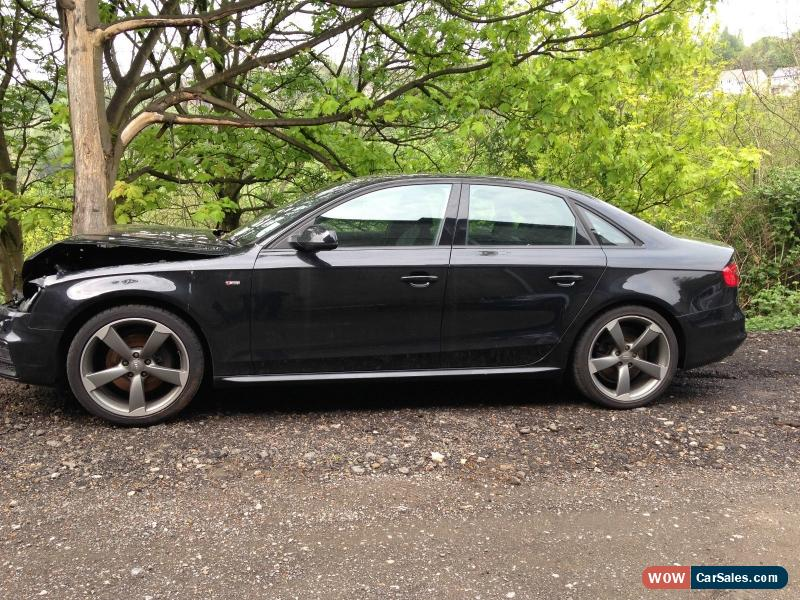 2014 audi a4 s line black edt tdi q for sale in united kingdom. Black Bedroom Furniture Sets. Home Design Ideas