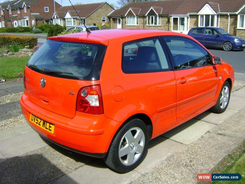 2003 volkswagen polo sport tdi for sale in united kingdom. Black Bedroom Furniture Sets. Home Design Ideas