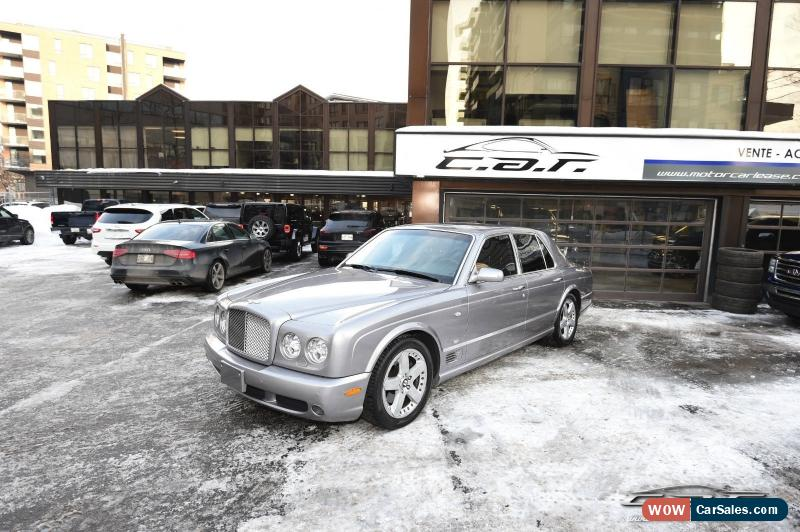 2005 Bentley Arnage For Sale In Canada