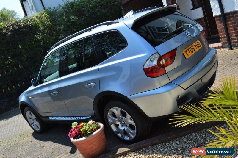 Worksheet. 2005 Bmw X3 SPORT AUTO for Sale in United Kingdom
