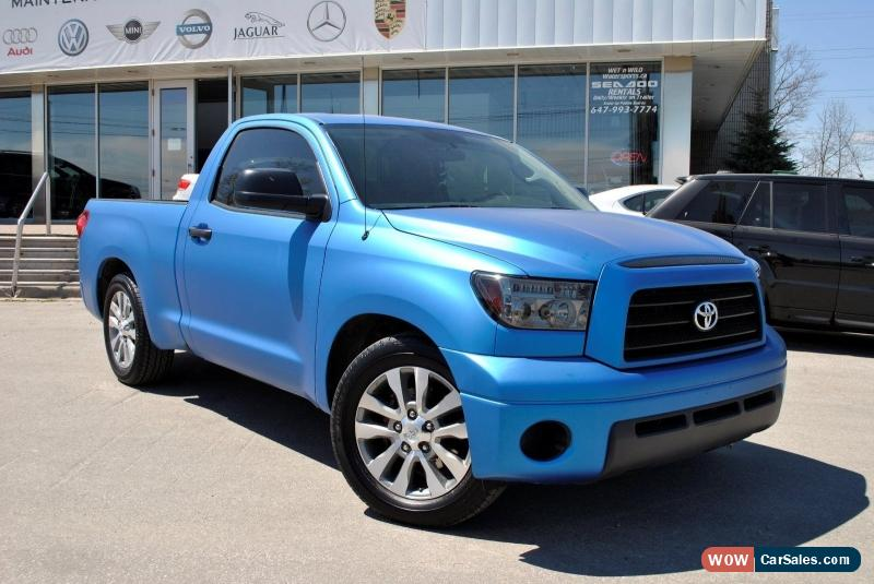 2007 Toyota Tundra For Sale In Canada