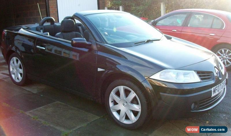 2007 07 renault megane 1 6 dynamique coupe cabriolet convertible new mot for sale in united - Megane 3 coupe cabriolet ...