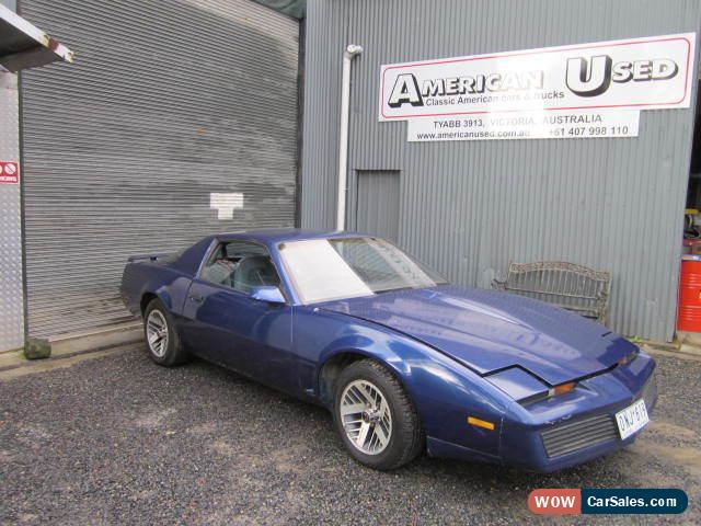 Knight Rider Car For Sale >> Pontiac Trans Am For Sale In Australia