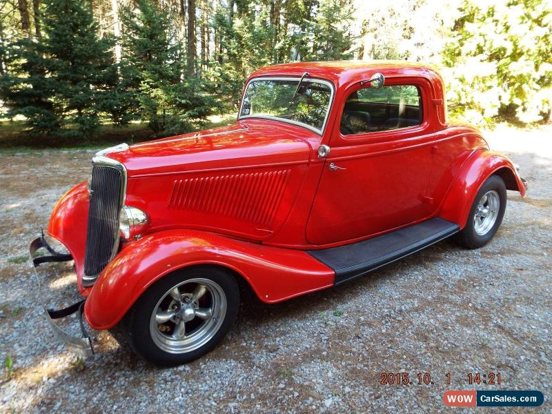 1934 ford 3 window steel coupe for sale in canada