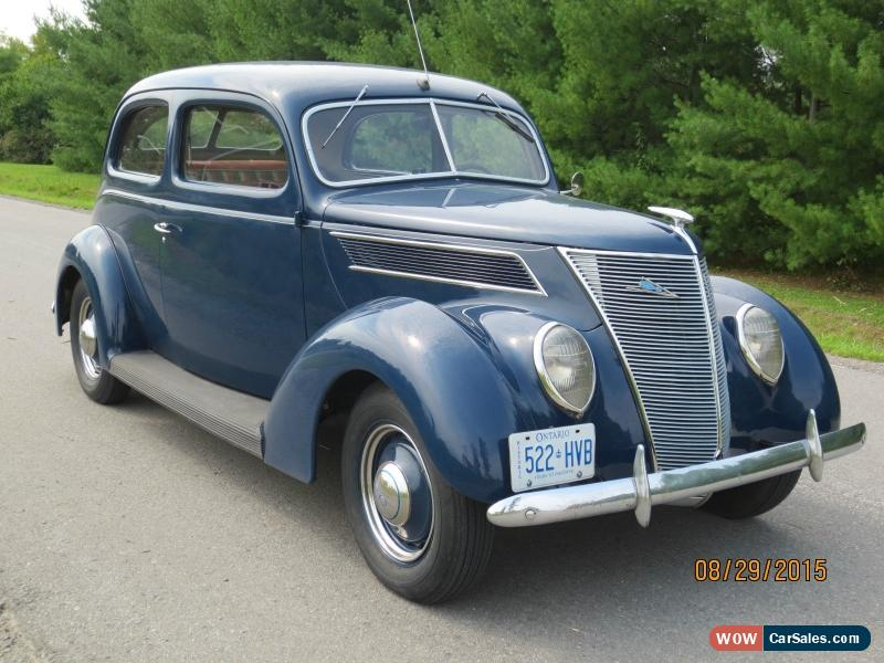1937 Ford Tudor Deluxe For Sale In Canada