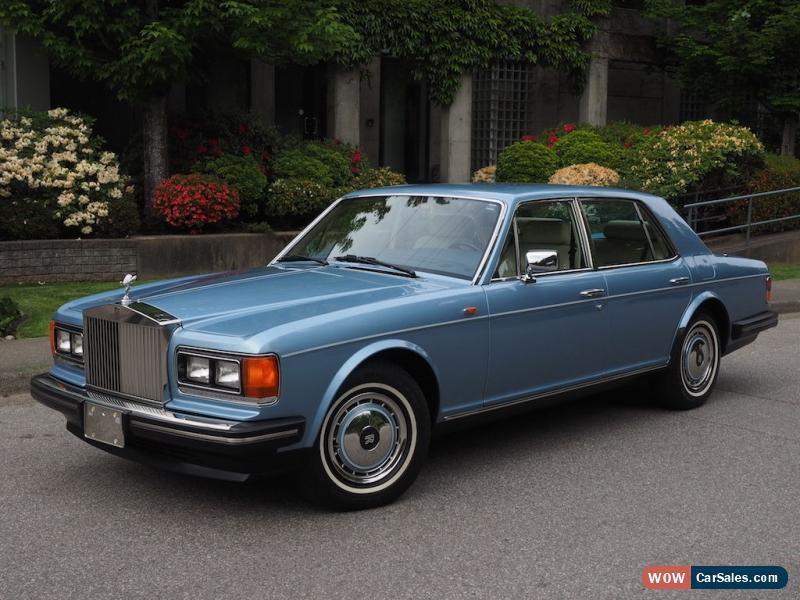Classic 1991 Rolls Royce Silver Spirit Spur Dawn For Sale