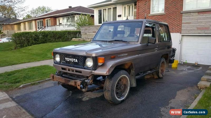 Classic 1985 Toyota Land Cruiser For Sale
