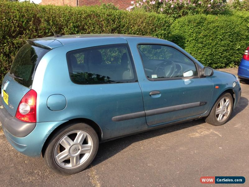 2005 renault clio dynamique dci 80 for sale in united kingdom. Black Bedroom Furniture Sets. Home Design Ideas