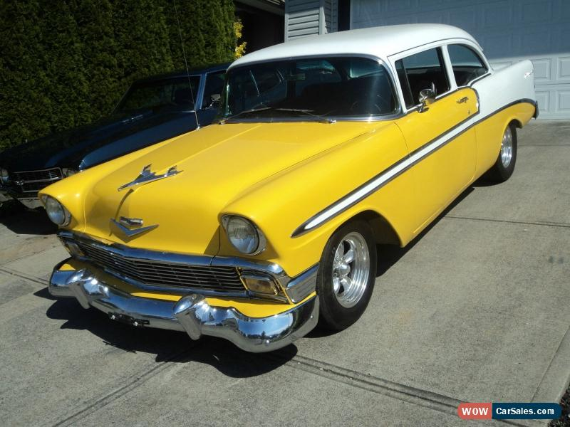 1956 chevrolet bel air 150 210 for sale in canada. Black Bedroom Furniture Sets. Home Design Ideas
