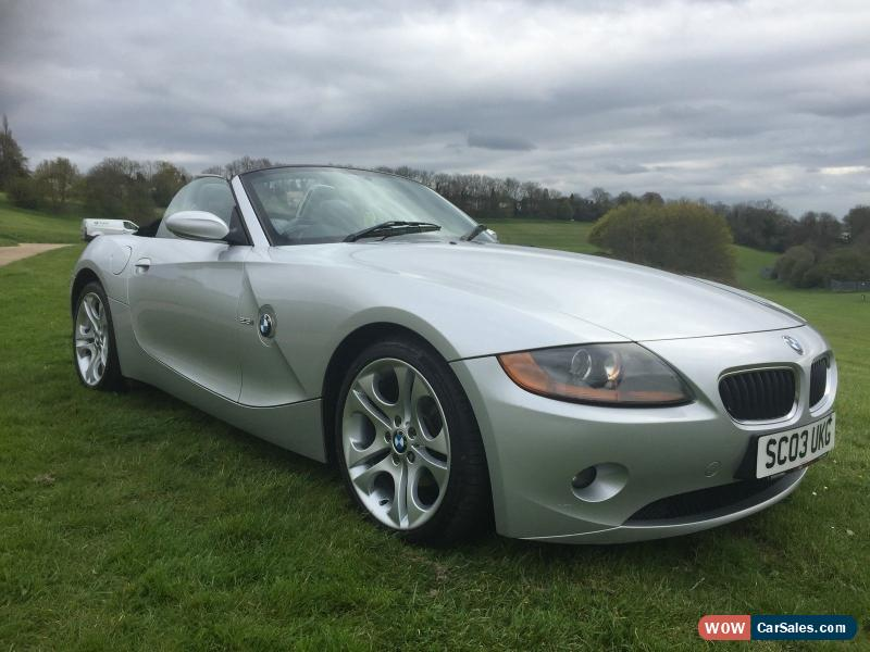 2003 Bmw Z4 2 5i Auto For Sale In United Kingdom