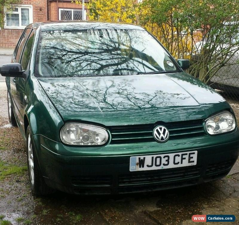 2003 Volkswagen Golf Transmission: VW Golf GT TDI, 2003 Green Diesel, Spares Or Repair For