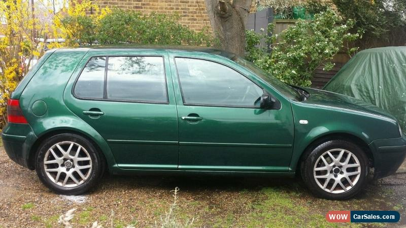 Vw Golf Gt Tdi 2003 Green Diesel Spares Or Repair For