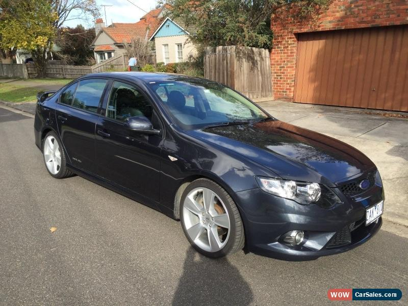 2011 FG Ford Falcon XR6 Turbo Upgrade