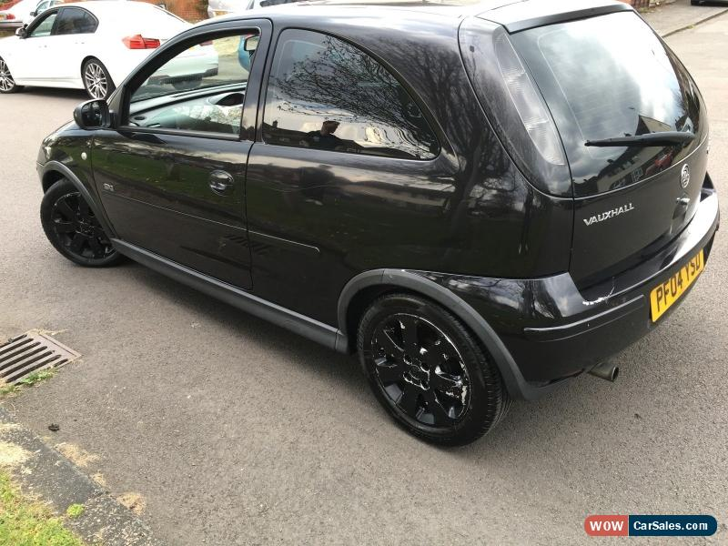 2004 vauxhall corsa sxi 16v for sale in united kingdom. Black Bedroom Furniture Sets. Home Design Ideas