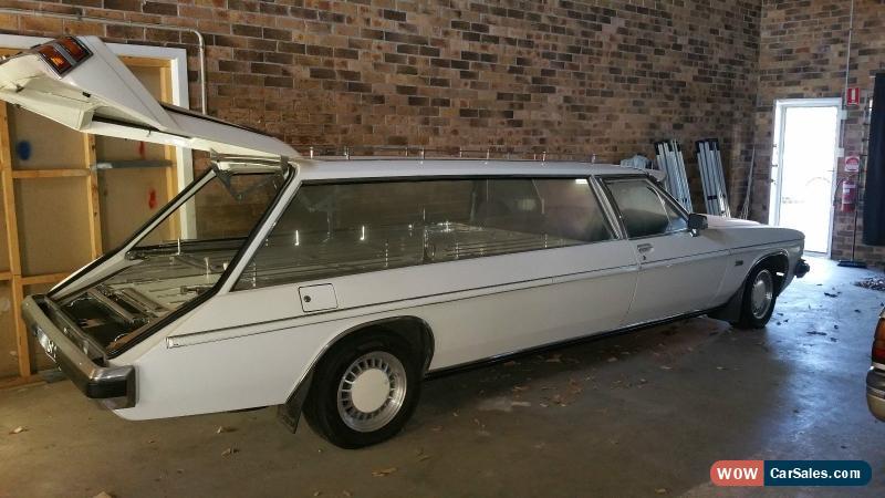 1982 V8 Wb Holden Statesman Hearse For Sale In Australia