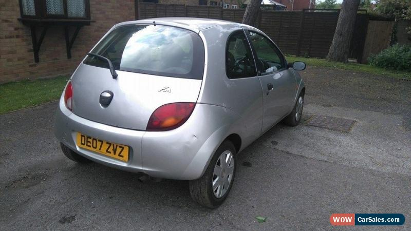 Classic  Ford Ka   Petrol Style Climate Silver Long Mot Spares Or Repairs