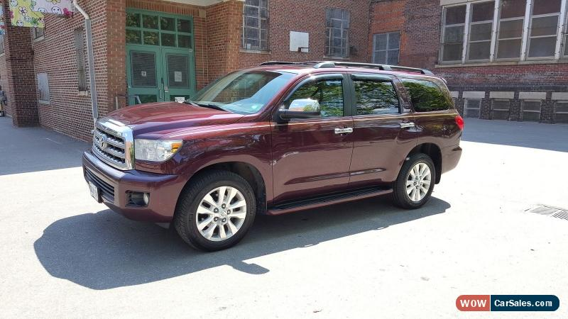2008 Toyota Sequoia For Sale In Canada