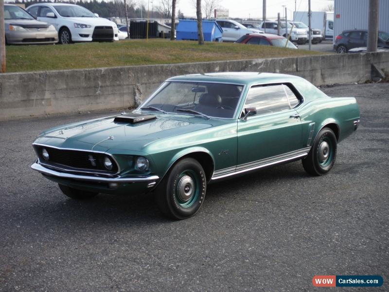 1969 ford mustang for sale in canada. Black Bedroom Furniture Sets. Home Design Ideas