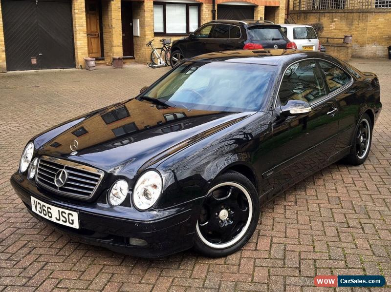 1999 mercedes benz clk 430 for sale in united kingdom. Black Bedroom Furniture Sets. Home Design Ideas